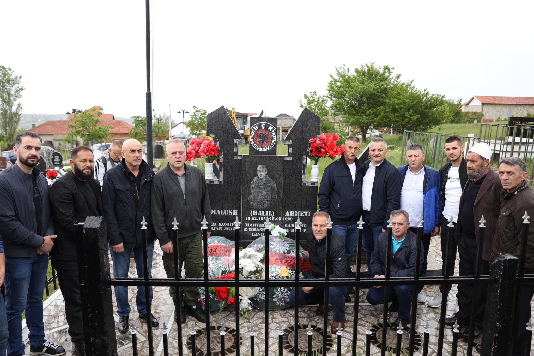 22 vjet nga rënia heroike e komandantit të Ushtrisë Çlirimtare të Kosovës, Malush Ahmeti